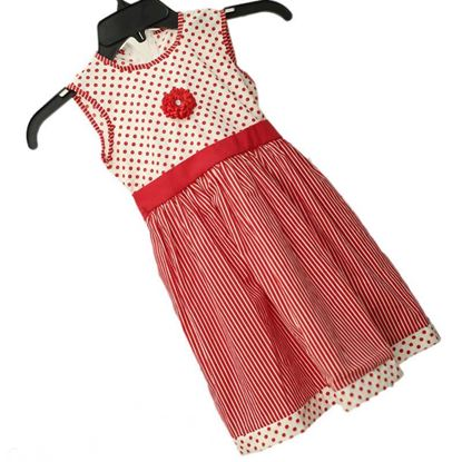 Kids Frock Sleeve less