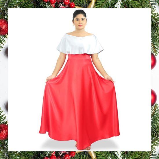cbf0c2284c8d Silver frilled off shoulder dress-SunMart Lanka