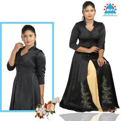 Picture of Crep Silk Lehenga Kit with Skirt