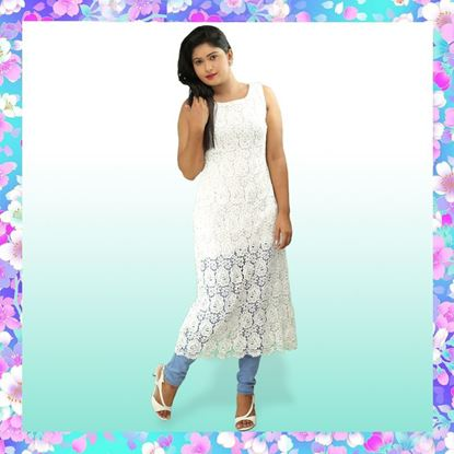 Picture of Sleeveless Full Lace Long Top