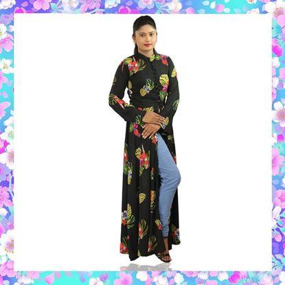 Long sleeves long kurtha top