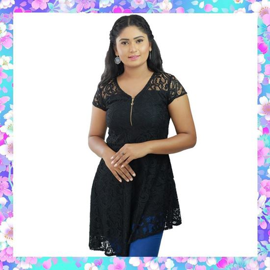 Picture of Full Lace Short Top with Zipper