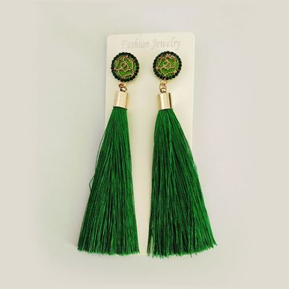 Picture of LYDIA LARGE TASSEL EARRINGS