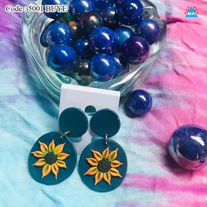 Picture of POLYMER CLAY HANDMADE EARRINGS COLLECTION