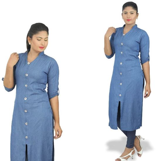 Picture of Chambray long top