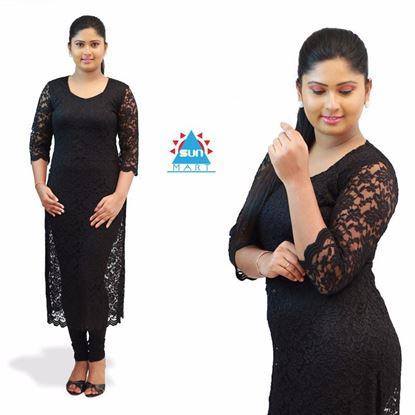 Picture of Full lace long kurtha